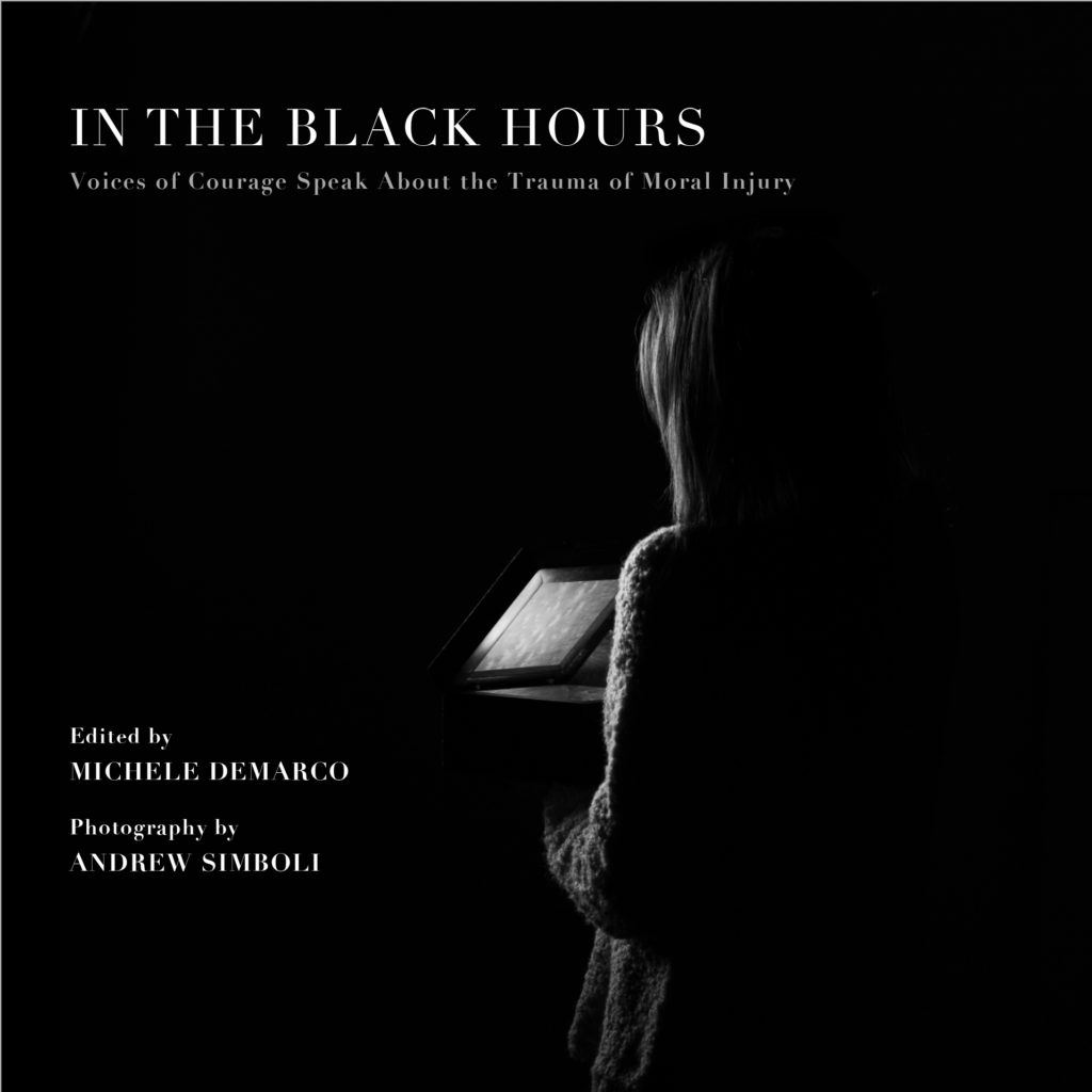 """Cover of """"In the Black Hours"""""""